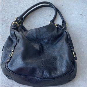 Merona black hobo bag